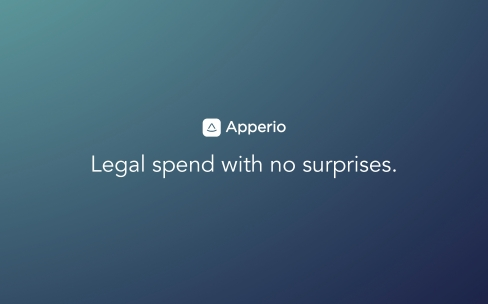Apperio - Legal spend with no surprises
